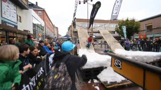 Rollin'Snow railjam final - Linköping - 7år sedan