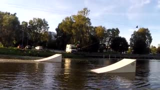 Autumn Wakeboarding in Västerås Cable Park - 6år sedan
