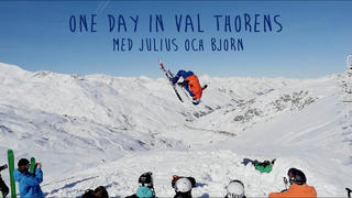 Julius och Björn - One day in Val Thorens - 4år sedan