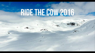 Ride The Cow friåkningstävling 2016 - 3år sedan