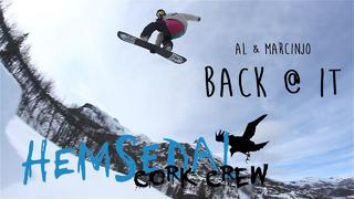 hemsedal cork crew - al & marcinjo - back @ it - 3år sedan