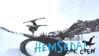 hemsedal cork crew - al & marcinjo - progress - 3år sedan