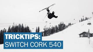 Freerides tricktips: Switch Cork 540 med Jesp