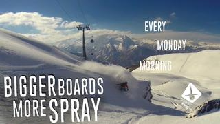 Every Monday Morning Ep. 27 – Bigger Boards, More Spray. - 2år sedan
