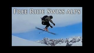 Free riding in Switzerland - Engelberg & Andermatt - 1år sedan