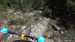 Tour du Mt Blanc Enduro med Ben Jones MTB
