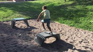 Parkour/freerunning - 3år sedan