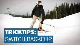 TRICKTIPS: Switch Backflip med Oscar Wester - 3år sedan