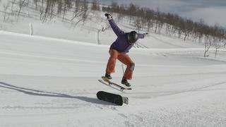 Snowskate in Sweden 6 - 1year ago