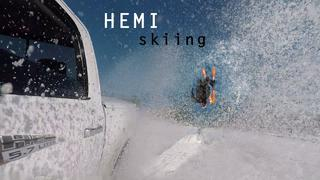 HEMI skiing - Backyard fun in Leksand - 1mån sedan