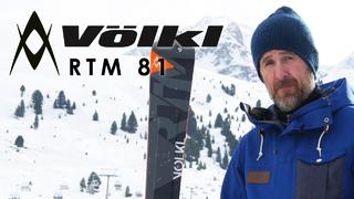 Volkl RTM 81 2017 Ski Review By Simon From Edge & Wax - 2år sedan