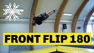 Studsmatta: How to frontflip 180 - 2mån sedan