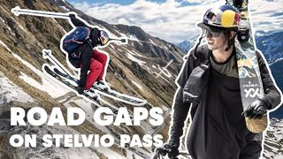Freestyle Skiing Down The Stelvio Pass | Road Gaps w/ Bene Mayr & Markus Eder - 5mån sedan