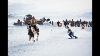 Skijoring in Jackson Hole 2016 - Click in and Hang on for the Ride - 1år sedan