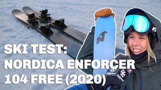 Skidtest: Nordica Enforcer 104 Free (2020) - 2v sedan