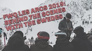 FWQ Les Arcs 2 februari 2019: Behind the scenes - 1år sedan