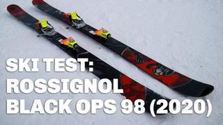 Rossignol Black Ops 98 (2020) - 13h sedan