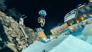 Crazy Ski Freestyle Course on a Mountainbike! - 2mån sedan