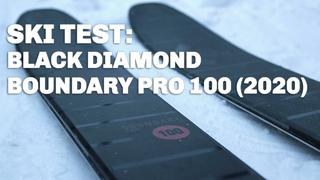 SKIDTEST: Black Diamond - Boundary Pro 100 (2020)
