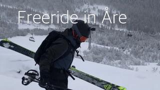 FREERIDE IN ÅRE - OFFPIST - 1år sedan