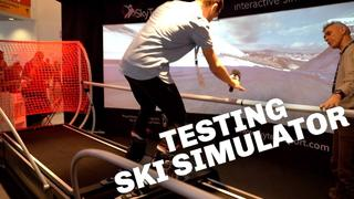 We try the Skytech Ski Simulator (and kind of fail...) - 4mån sedan