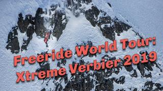 Freeride-TV sammandrag: Final Freeride World Tour, Xtreme Verbier 2019 - 1år sedan