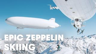First Ever Zeppelin Ski Drop - 2v sedan