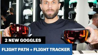 Anpassade race- och freeridegoggles: Oakley Flight Path + Flight Tracker - 1v sedan