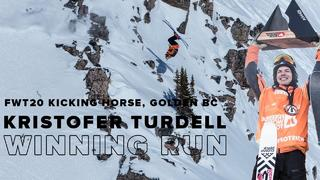 FWT20 Kicking Horse Golden BC | Kristofer Turdell Ski Men Winning Run