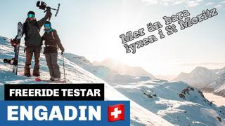 Freeride testar: Engadin - 1mån sedan