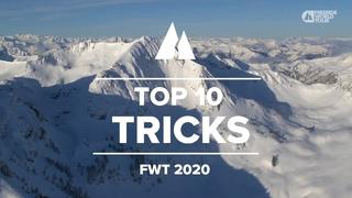 10 bästa tricksen från Freeride World Tour 2020 - 10mån sedan