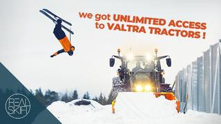 Real Skifi - Skiing with Tractors - 3months ago