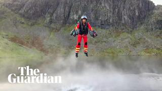 'Jet suit paramedic' trialled in Lake District - 1month ago