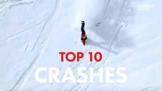 Freeride World Tour | Top 10 Crashes All Time - 3mån sedan