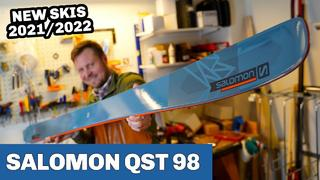 Salomon QST 98 Ski 2022 - SNEAK PEAK