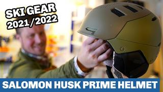 Salomon Husk Prime helmet 2022 - Sneak Peak - 1v sedan