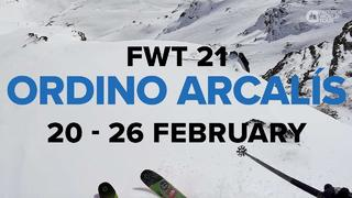 Freeride World Tour 2021: Andorra 20-26 feb [trailer] - 1v sedan