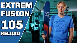 Extrem Fusion 105 Reload Ski 2022 - Sneak Peak - 1d sedan