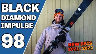 Black Diamond Impulse 98 Ski 2022 - Sneak Peak