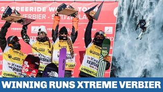 All winning runs from Xtreme Verbier 2021 and final of the Freeride World Tour 2021
