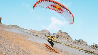 Skiing In Summer | Speedriding The Alps With Valentin Delluc